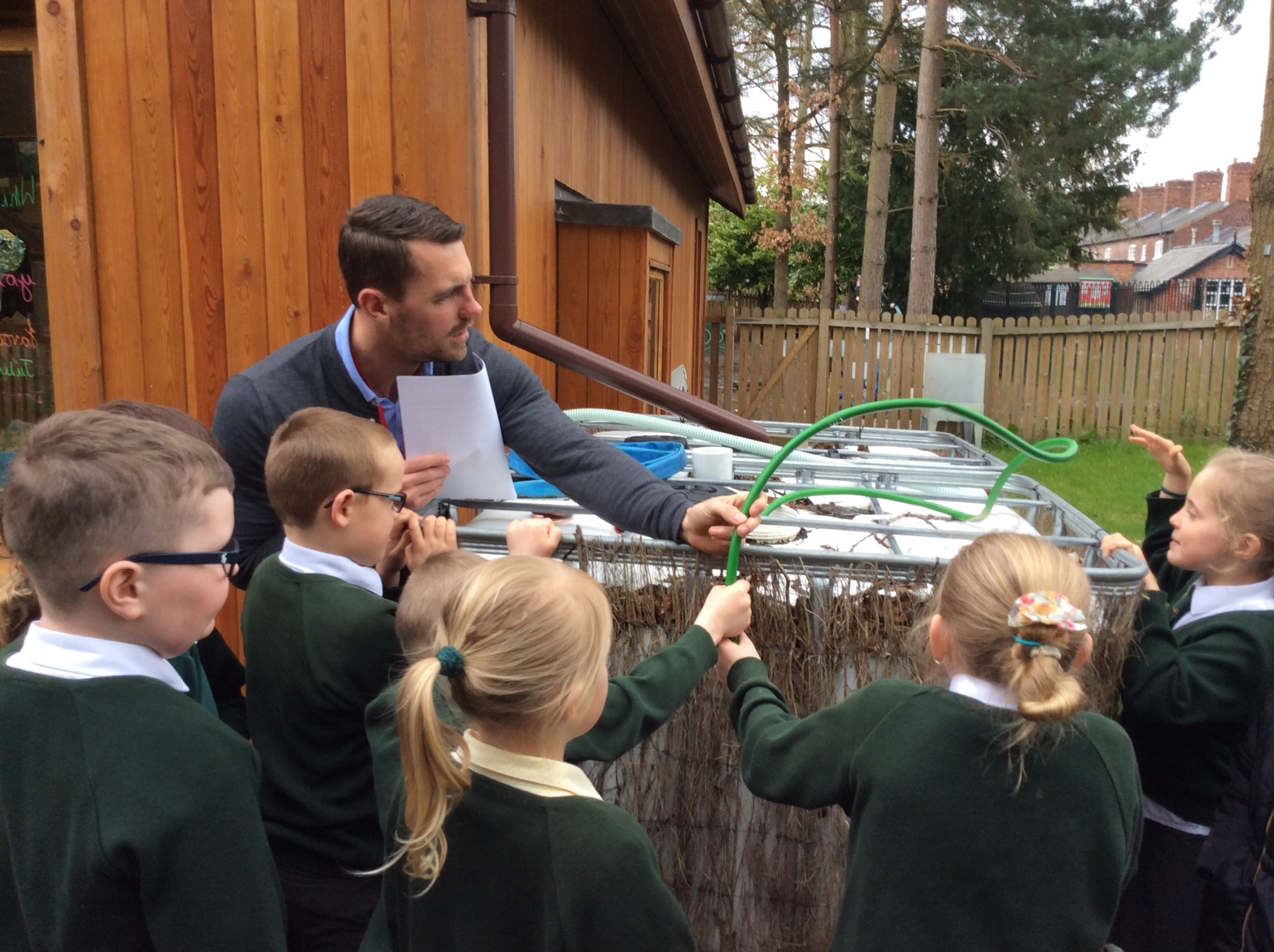 Outdoor science workshop case study - April 2016